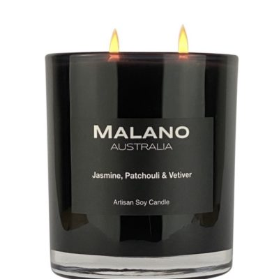 Candle - Jasmine, Patchouli & Vetiver