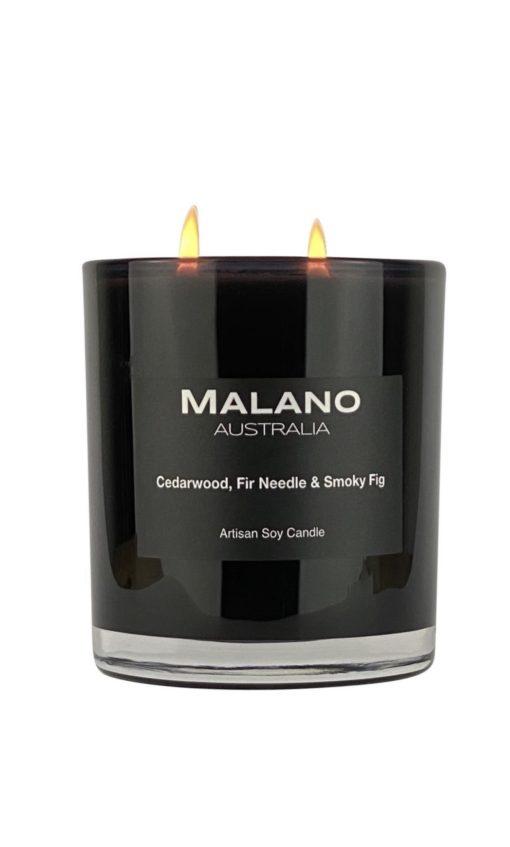 Candle - Cedarwood, Fir Needle & Smokey Fig