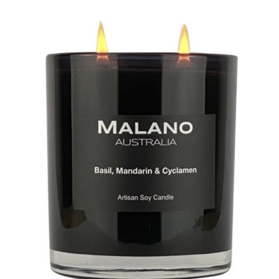 Candle - Basil, Mandarine & Cyclamen