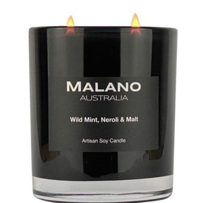 Candle - Wild Mint, Neroli & Malt