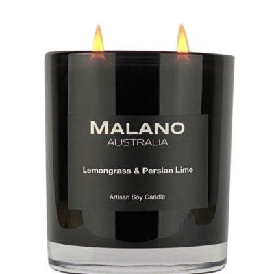 Lemongrass & Persian Lime Soy Candle