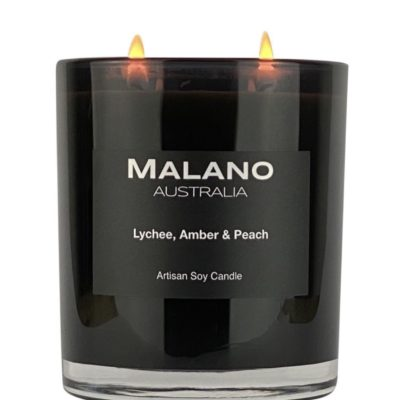 Candle Lychee, Amber & Peach