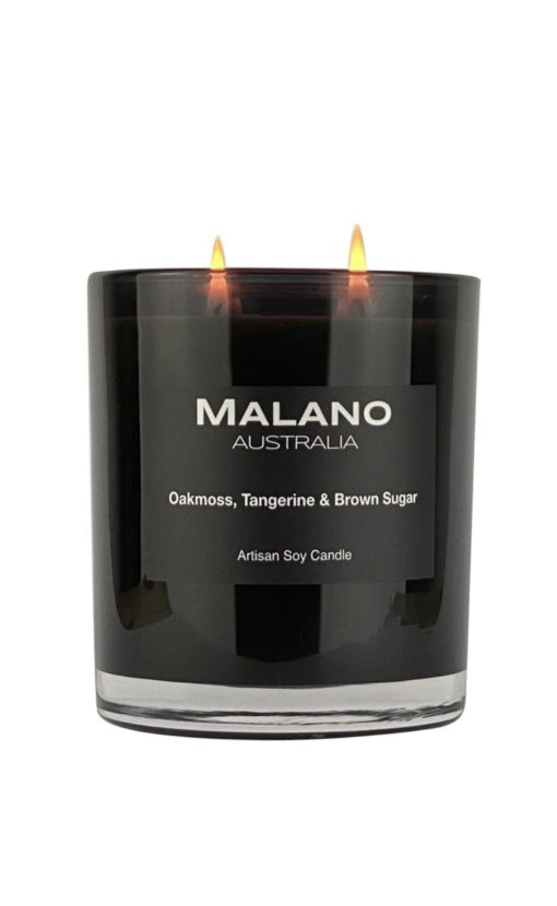 Candle - Oakmoss, Tangerine & Brown Sugar