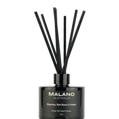 Magnolia, Red Rose & Freesia Artisan Reed Diffuser